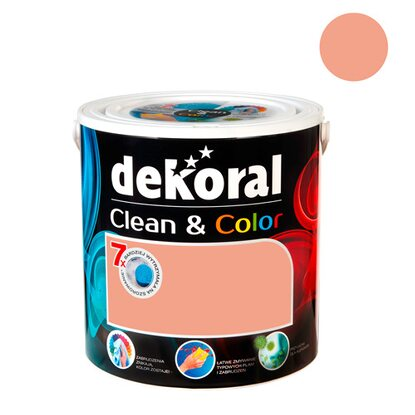 Dekoral Emulsja Clean & Color włoskie latte 2,5 l
