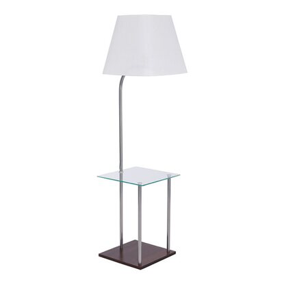 TK Lighting Lampa podłogowa Tori Glass 1x60W E27