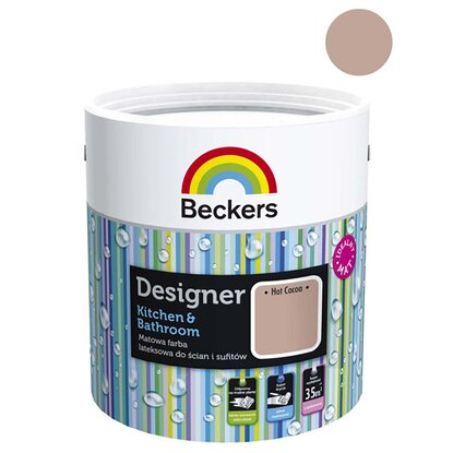 Beckers Emulsja Designer Kitchen&Bathroom Hot Cocoa 2,5 l