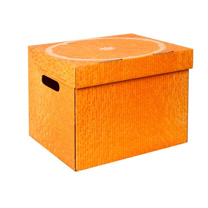 Global-Pak Pudło kartonowe One Orange 34 cm x 25 cm x 26 cm