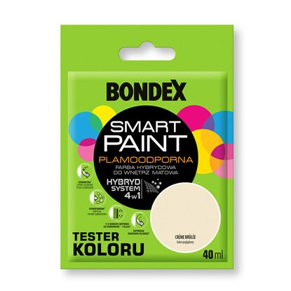 Bondex Tester koloru Smart Paint creme brulee 40 ml