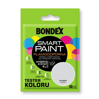 Bondex Tester koloru Smart Paint nic do ukrycia 40 ml
