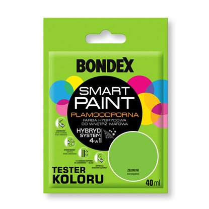 Bondex Tester koloru Smart Paint zielono mi 40 ml