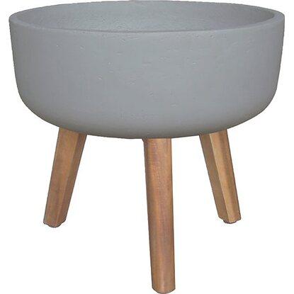 Donic Loft cementowa na nóżkach z drewna 38x38x74 cm
