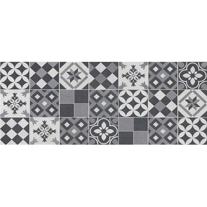 Ceramika Color Amsterdam patchwork grey 20 cm x 50 cm