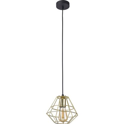 TK Lighting Lampa sufitowa DIAMOND GOLD śr. 20 cm złota 1x60W E27