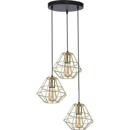 TK Lighting Lampa sufitowa DIAMOND GOLD