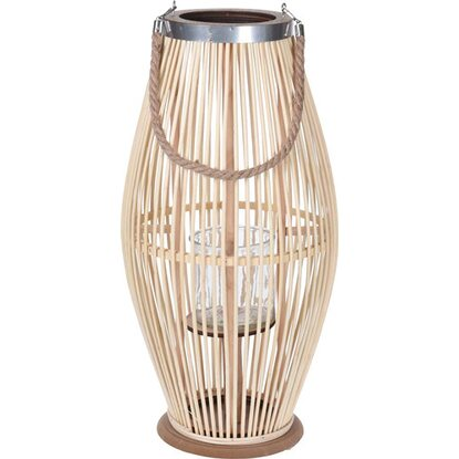 Latarnia bambusowa naturalna 59 cm