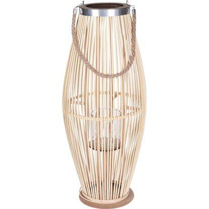 Latarnia bambusowa naturalna 72 cm