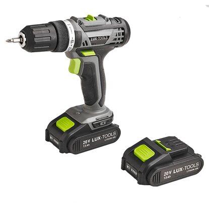 Wiertarko-wkrętarka LUX-Tools 20V