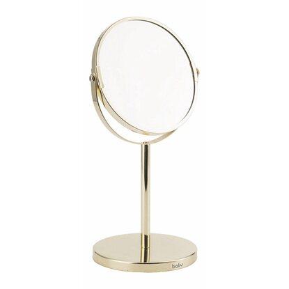 BALIV Lusterko kosmetyczne złote