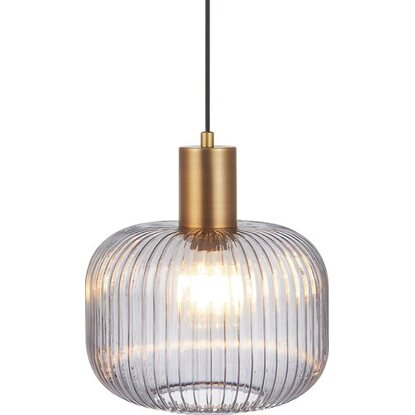 Lampa GLASS smoky śr. 25 cm 40W E27