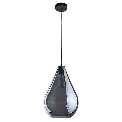 TK Lighting Lampa wisząca FUENTE grafit 1x60W E27