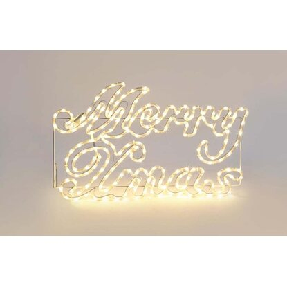 Napis Wesołych Świąt LED zew