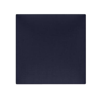 Panel tapicerowany Simple kwadrat 30 x 30 cm ciemnoniebieski