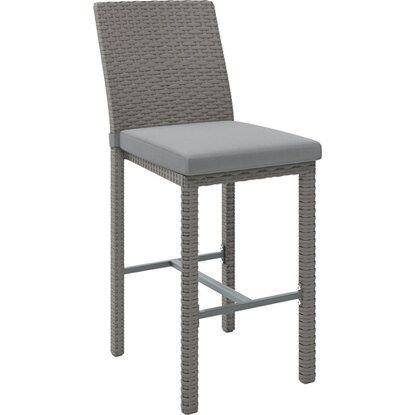 Krzesło barowe Greelong szare