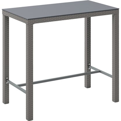 Stół barowy Greelong szary 110 x 60cm