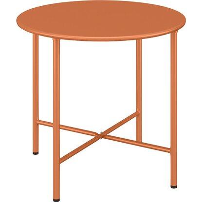 Stolik Corani pomarańczowy śr. 50cm