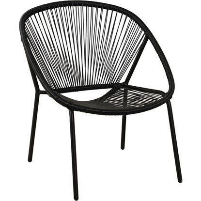 Fotel Corani czarny