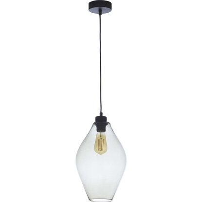 TK Lighting Lampa wisząca TULON transparentna 1x60W E27