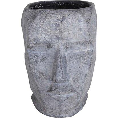 Donica Głowa szara 31x24x34cm