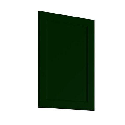 Front zmywarki pełny Alcamo 45 cm zieleń mat
