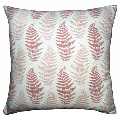 Poduszka dekoracyjna liście brąz