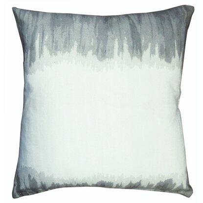 Poduszka dekoracyjna biało- szara 40x40 cm