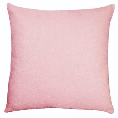 Poduszka dekoracyjna jasno różowa 40x40 cm