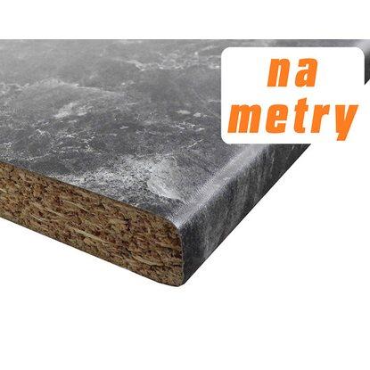 Blat roboczy 2,8 cm x 60 cm x 305 cm Termisto Black, matowy