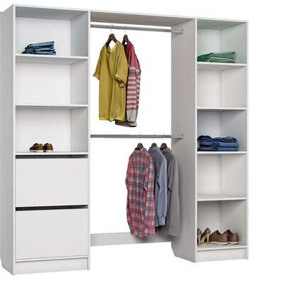 Garderoba SATURN biała