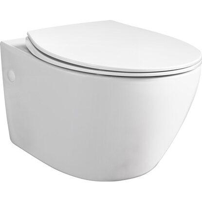 Miska WC WC-7660 Rimless z deską wolnoopadającą