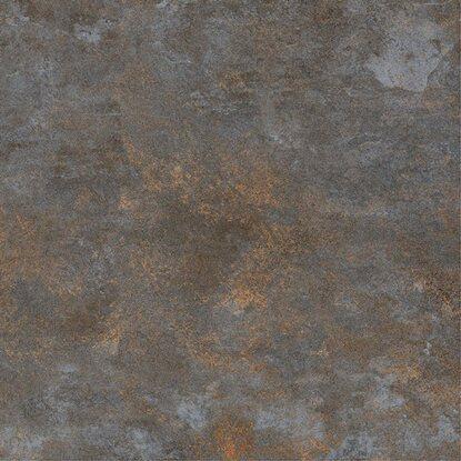 Gres szkliwiony METALIKA, szary, 60 x 60 cm