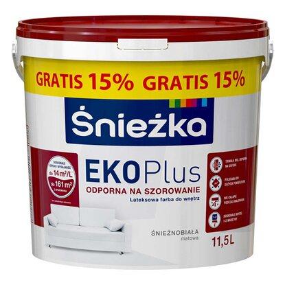 Śnieżka Emulsja EKO Plus biała 11,5 l