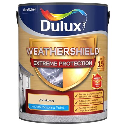 Emulsja fasadowa Dulux Extreme Protection piaskowy 5 l