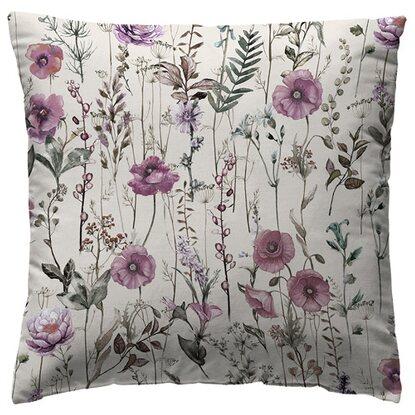 Poduszka ZEKYA różowa 40 cm x 40 cm