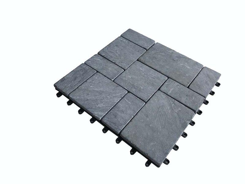 Cyganek Podest Tarasowy Wapień Czarny 30x30x2cm