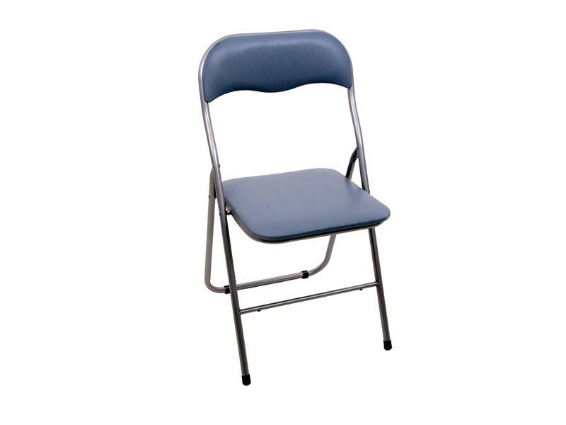 Dajar Krzesło Składane Pvc 45 Cm X 45 Cm X 80 Cm