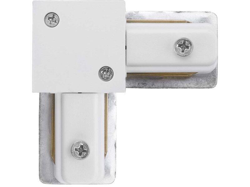Nowodvorski łącznik Narożny Connector Biały