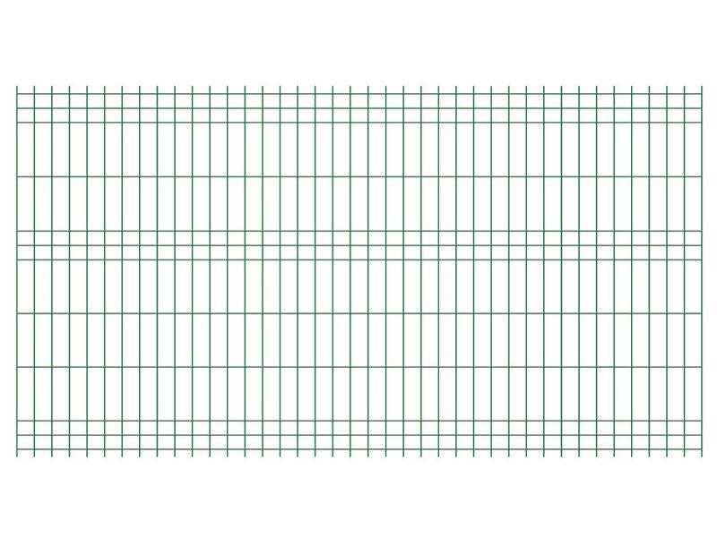 Jarmex Panel Ogrodzeniowy Zielony 250 Cm X 132 Cm