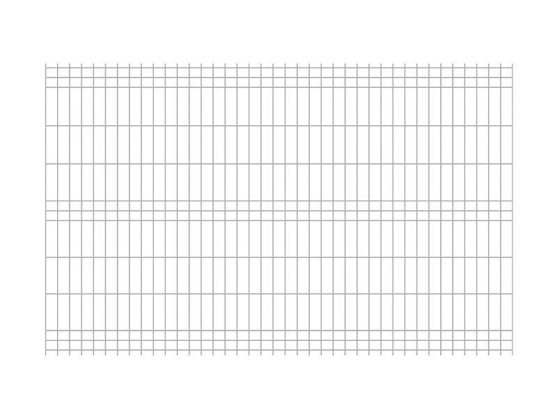 Jarmex Panel Ogrodzeniowy Ocynkowany 250 Cm X 152 Cm