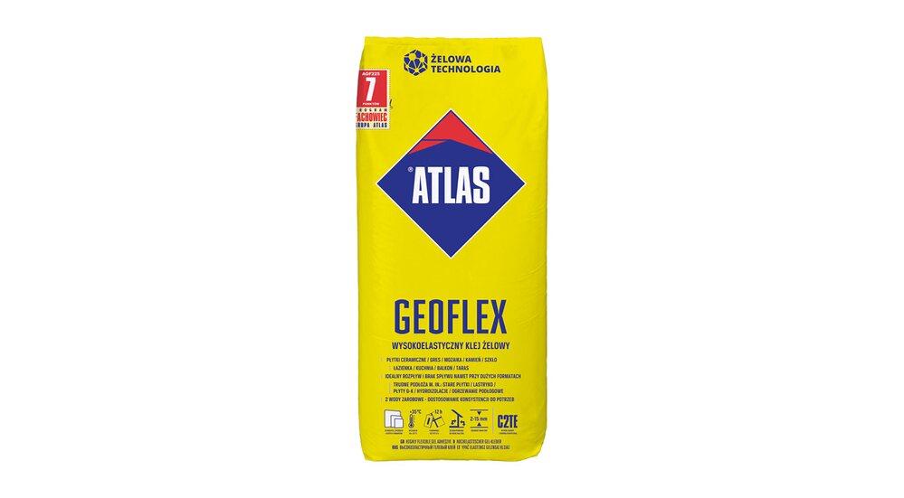 Atlas Wysokoelastyczny klej żelowy Geoflex